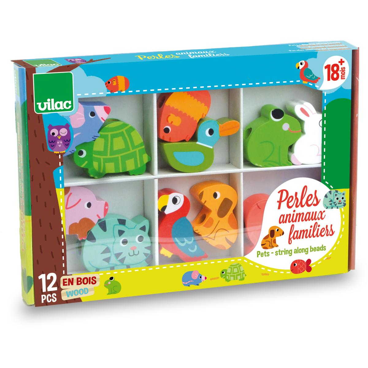 PERLES ANIMAUX FAMILIERS - VILAC