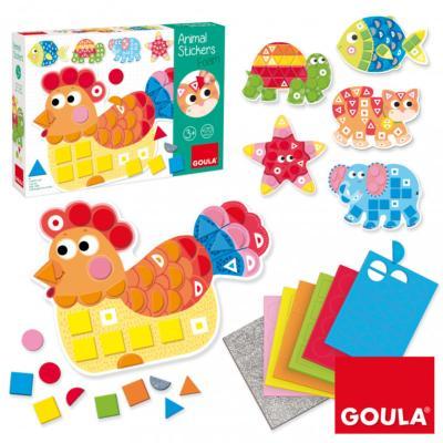 ANIMAL STICKERS - GOULA