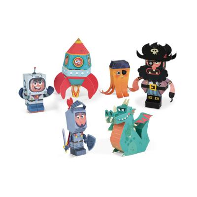 FIGURINES PAPER TOYS - JANOD