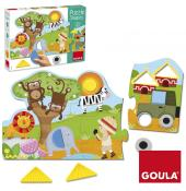 PUZZLES FORMES - GOULA