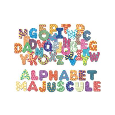 MAGNETS ALPHABETS MAJUSCULE 56 PCS - VILAC