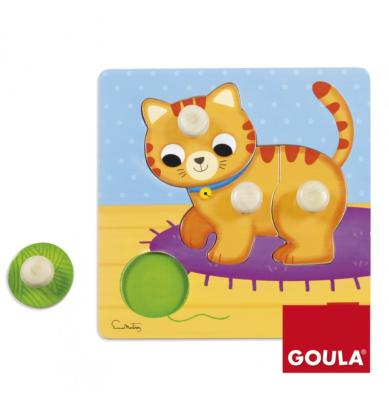 PUZZLE CHAT - GOULA